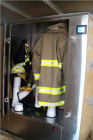 ozone cleans firefighter ppe