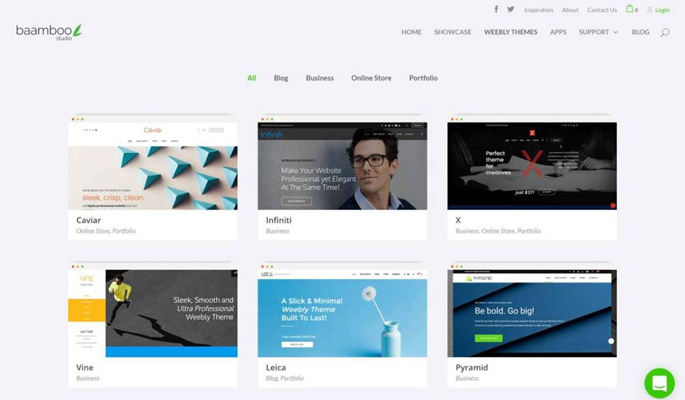 baamboo studio weebly themes review 2 1
