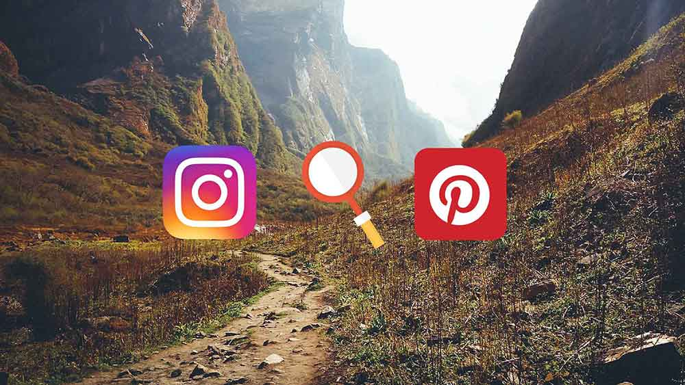 instagram piterest travel secrets