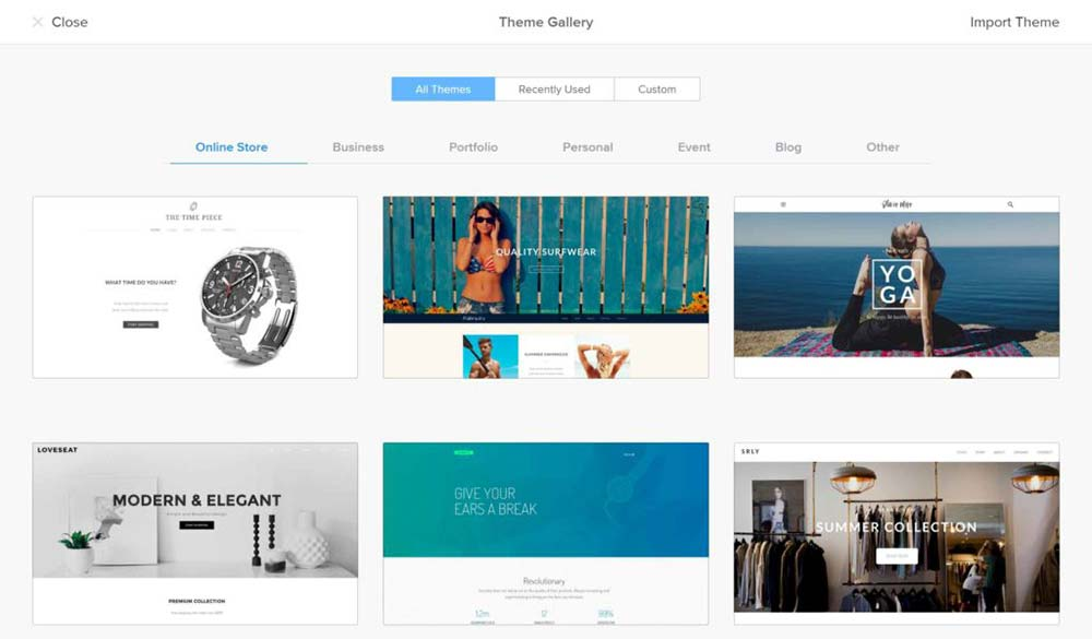 weebly review themes 1