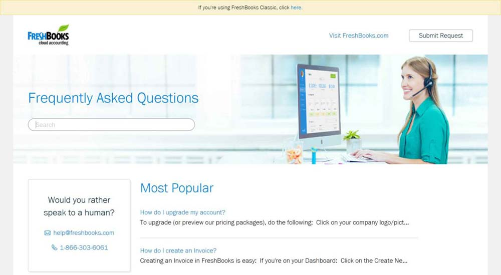 freshbooks support faq 1 1
