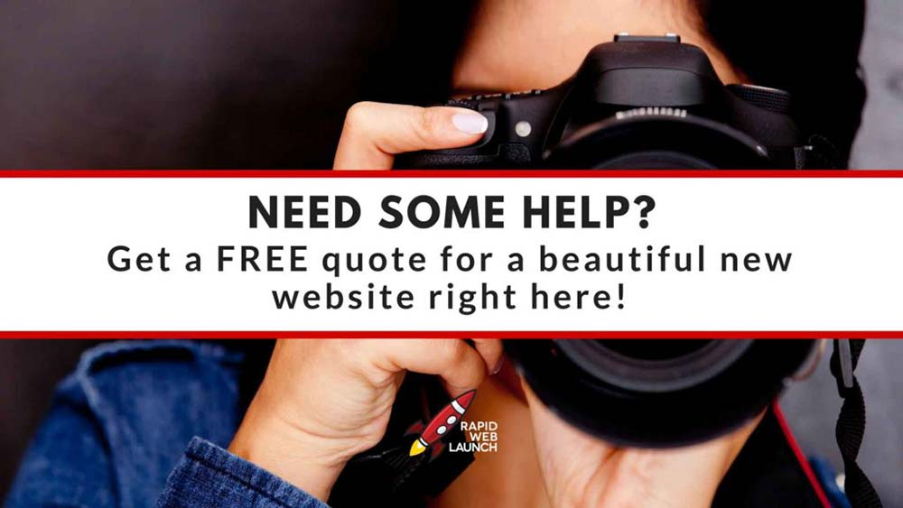 affordable photography web design 1