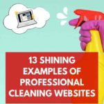 cleaning website examples