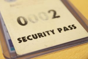 security pass managing access points