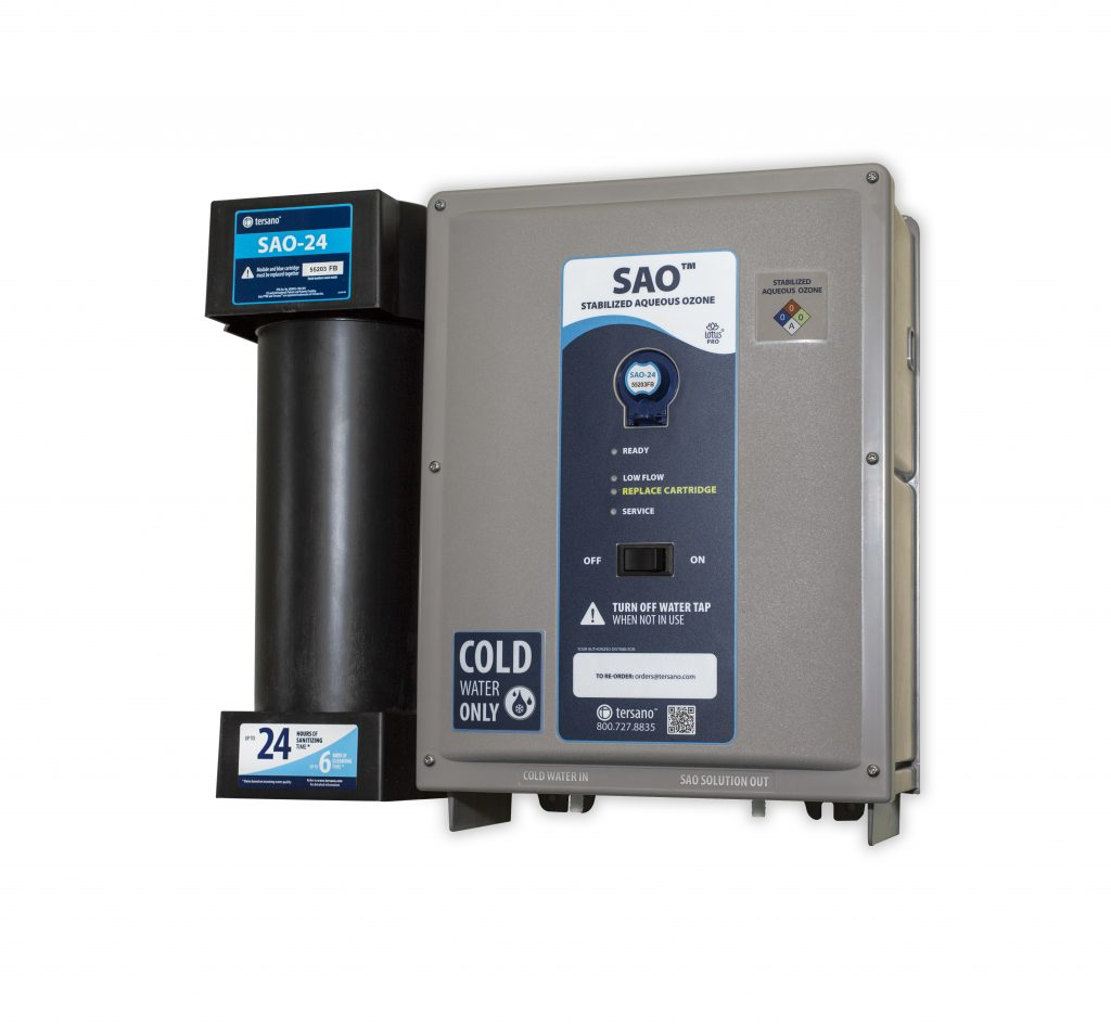 Tersano Ozone Sanitizing Technology